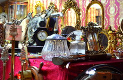 Luxurious antique objects Stock Photography