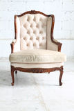 Luxurious armchair Royalty Free Stock Images