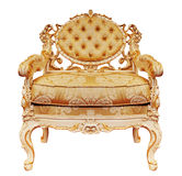 Luxurious armchair isolated on the white background + clipping p Stock Photography