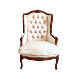 Luxurious armchair vintage. For design Royalty Free Stock Photo