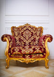 Luxurious armchair Royalty Free Stock Photos