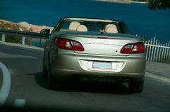 Luxurious auto, cabriolet Stock Images