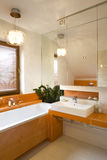 Luxurious Bathroom stock photography