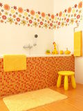 Luxurious bathroom for kids Stock Images