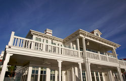 Luxurious Beach Front Accommodations on A Summer D Stock Images