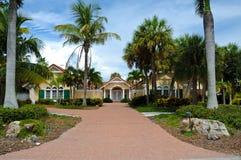 Luxurious Beach House Royalty Free Stock Photo