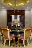Luxurious and beautiful dining room Royalty Free Stock Photos