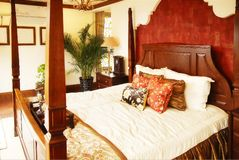 Luxurious bedroom royalty free stock images