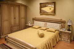 Luxurious bedroom 2 Stock Photo