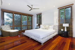 Luxurious bedroom Stock Images