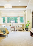 Luxurious Bedroom Detail Royalty Free Stock Photography