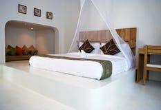 Luxurious bedroom interior Stock Photography
