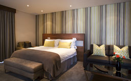 Luxurious Bedroom Suite Stock Photography