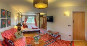 Luxurious bedroom (Susex Prairies B&B) Stock Image