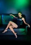 Luxurious black women Royalty Free Stock Photography