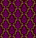 Luxurious  brocade pattern. Vector design of luxurious brocade pattern for multipurpose use in web design, page layout, texturing etc Royalty Free Stock Images