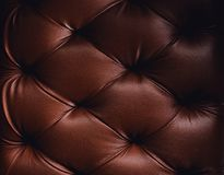 Luxurious Brown-tone leather texture furniture