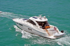 Luxurious Cabin Cruiser Royalty Free Stock Photo