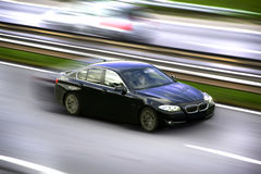 Car panning Royalty Free Stock Image