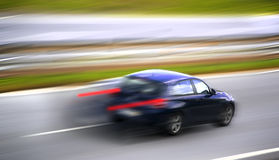 Car panning Royalty Free Stock Photos