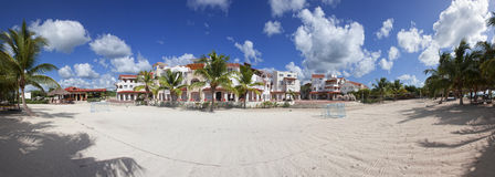 Luxurious Caribbean resort Royalty Free Stock Images