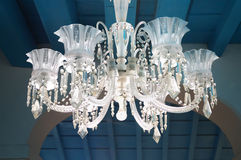 Luxurious ceiling lamp Stock Photography