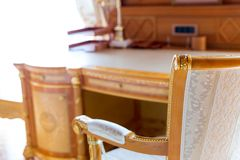 Luxurious chair Stock Photography