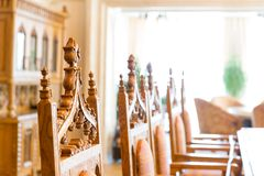 Luxurious chairs Stock Photos