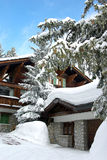 Luxurious chalet Stock Image