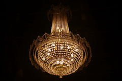 Luxurious Of Chandelier Royalty Free Stock Photo