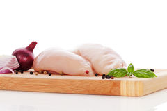 Luxurious chicken meat background. Royalty Free Stock Images