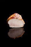 Luxurious chicken steak isolated. Stock Photography