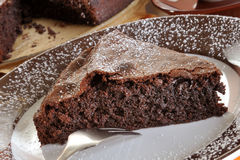 Luxurious Chocolate cake Royalty Free Stock Photo