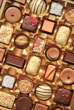 Luxurious Chocolates in box Royalty Free Stock Photos