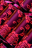 Luxurious Christmas crackers Royalty Free Stock Photography