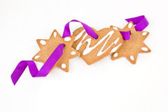 Luxurious christmas gingerbread. Royalty Free Stock Photos