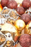 Luxurious christmas still life. Royalty Free Stock Images