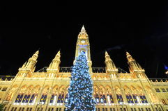 Luxurious Christmas in Vienna royalty free stock image