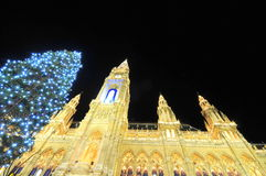 Luxurious Christmas in Vienna Royalty Free Stock Images