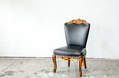 Luxurious classical vintage armchair Royalty Free Stock Photos