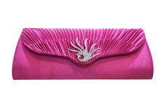 Elegant clutch bag Royalty Free Stock Image