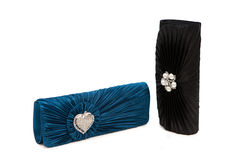 Luxurious clutch bags Royalty Free Stock Photo