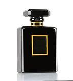 Luxurious coco chanel bottle perfume Royalty Free Stock Photo