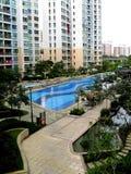 Luxurious Condominium Estate Stock Image