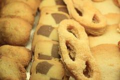 Luxurious cookies on display Stock Photos