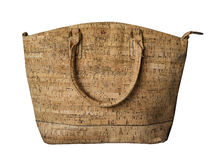 Luxurious cork hand-bag purse Porto Portugal Stock Image