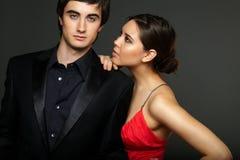 Luxurious couple Royalty Free Stock Image
