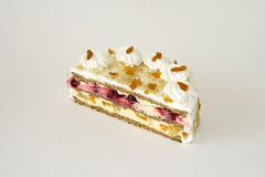 Luxurious cream dessert cake Royalty Free Stock Photos