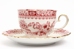 Luxurious Cup on White Royalty Free Stock Photo