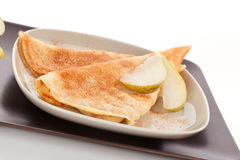 Luxurious dessert. Pancake. Stock Photo